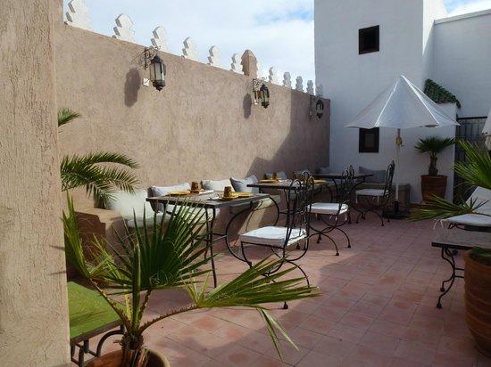 Riad Baba Ali: Terrasse