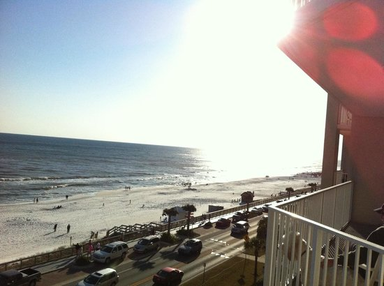 Majestic Sun at Seascape Resort: View from 5th floor balcony