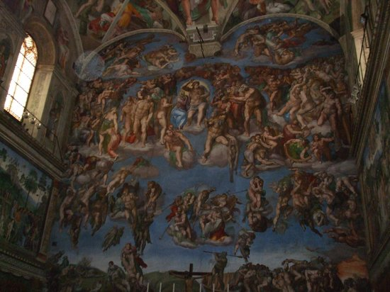 Inside the Sistine Chapel - Picture of Sistine Chapel ...