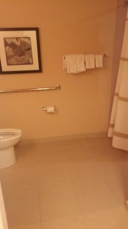 Atlanta Marriott Buckhead Hotel & Conference Center: Our room (bathroom)