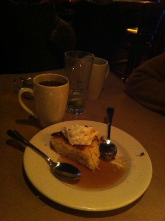 Bonefish Grill - Skokie: Coffee and Coconut trimmed pie