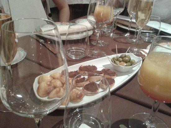 Le Domaine du Revermont: aperitif
