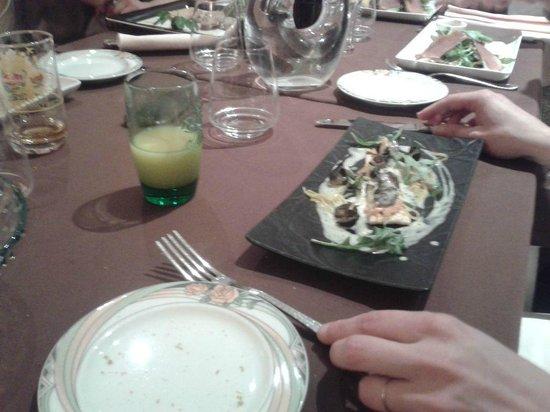 Le Domaine du Revermont: assiete d'escargots