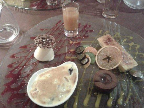 Le Domaine du Revermont : palette de dessert