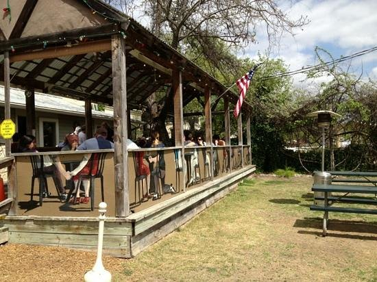 The Dodging Duck Brewhaus: outdoor dining too