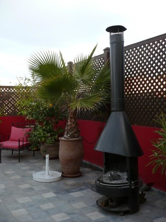 Riad Badi: Terrace