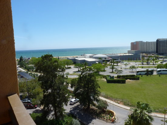 Casino Vilamoura : View from Dom Pedro Hotel, Casino and Ocean