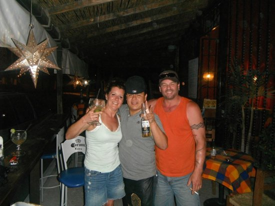 La Casa del Cuervo: Best server in San Jose del Cabo!! Thanks for the many giggles!!