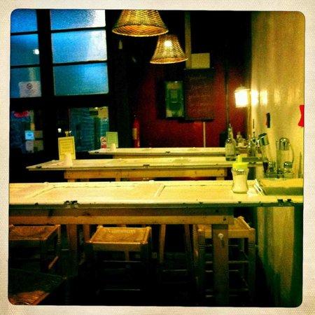 La Bascula : Doors as table tops