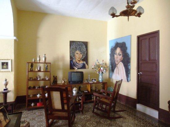 Nilda y Luis: Der Eingangsbereich
