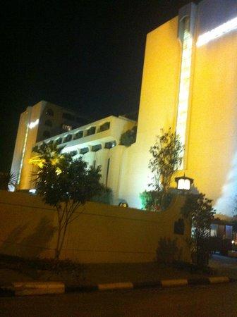 Le Meridien Heliopolis: Vue de nuit