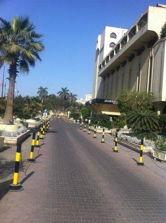 Le Meridien Heliopolis: Entree de l'Hotel