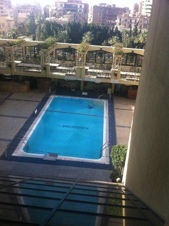 Le Meridien Heliopolis: Vue sur la piscine