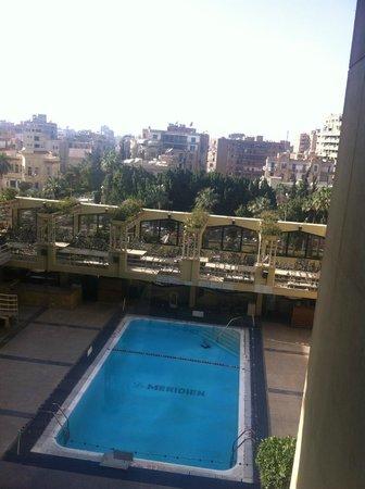 Le Meridien Heliopolis: Vue usr la ville