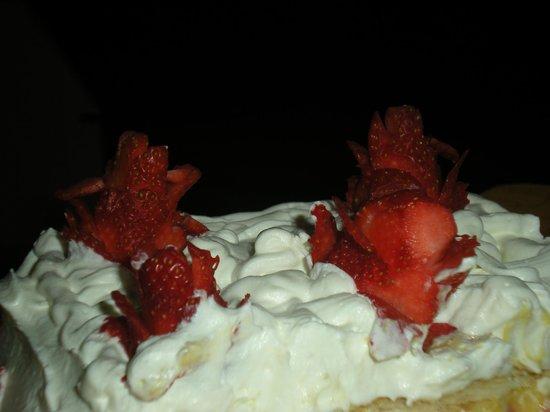 Hotel Da Sauro: Torta millefoglie alle fragole