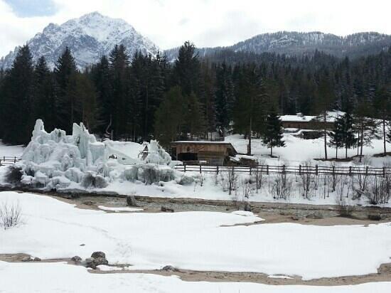 Hotel Aqua Bad Cortina: San Vigilio