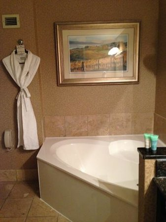 Chateau Elan Winery And Resort: luxury spa bathroom