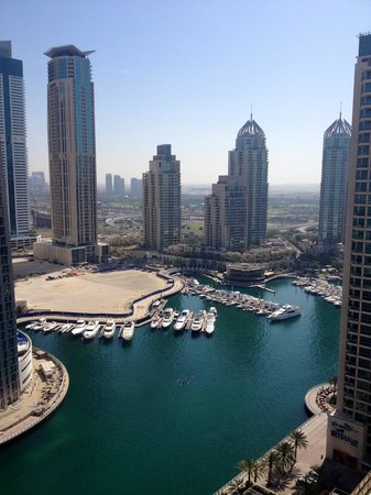 Grosvenor House Dubai: View of marina from tower 2