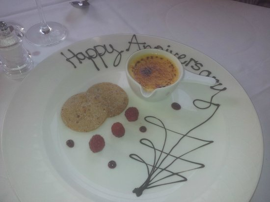 Coul House Hotel: Best Creme B Ever !
