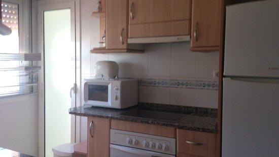 Siesta Dorada Apartments: cocina