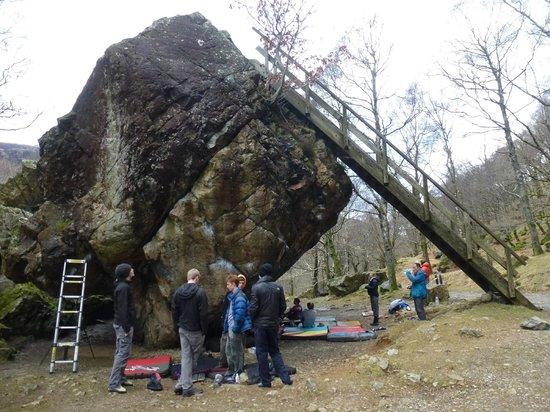 The Bowder Stone: bowder stone 1