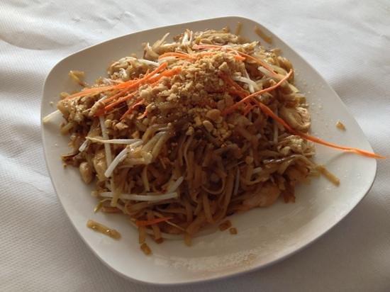 Taste of Thai: pad Thai noodles