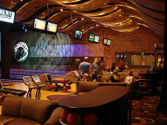 iPic Theaters: Pinstrikes inside iPic Entertainment