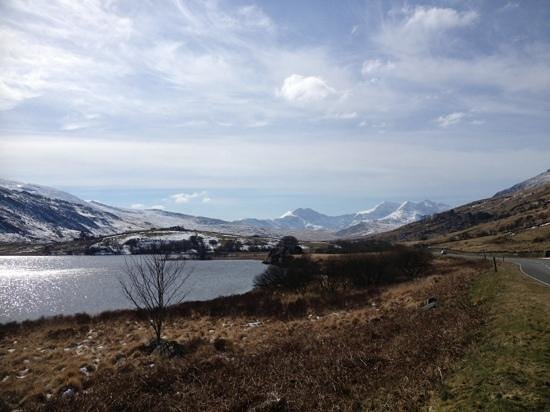 Min y Gaer: Out and about Snowdon only 40 minutes away