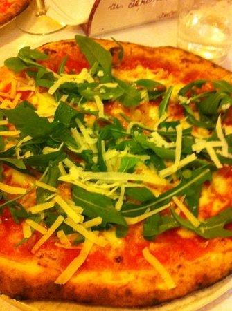 Pizzeria Ai Seponi: rucola e parmigiano