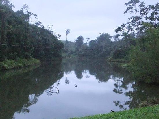 Hotel Hacienda Sueno Azul: OVERLOOKING ONE OF THE LAKES