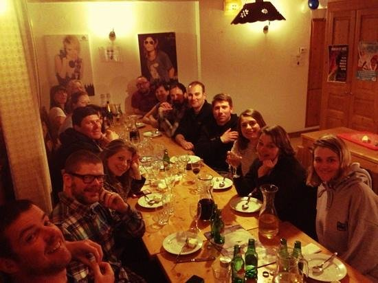 rudechalets - Chalet Joseph : The Last Supper!