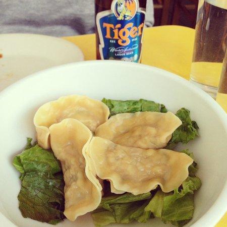 Mooncake Foods : Crawfish Dumplings