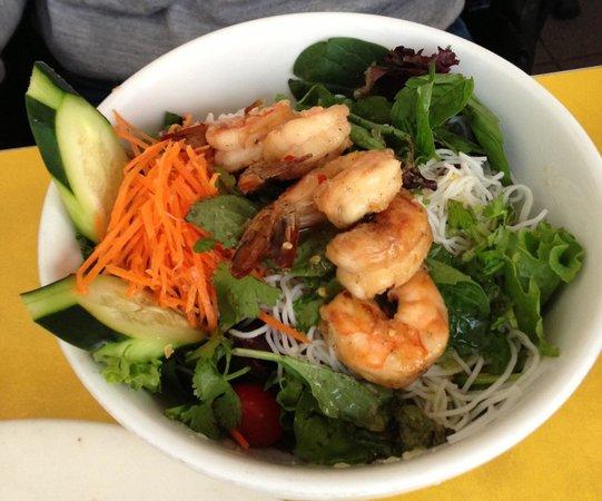 Lemongrass Shrimp Salad - Foto di Mooncake Foods, New York ...