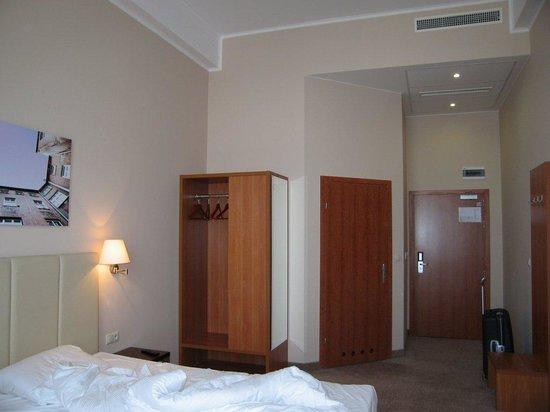 Hotel Focus Lodz: Double room