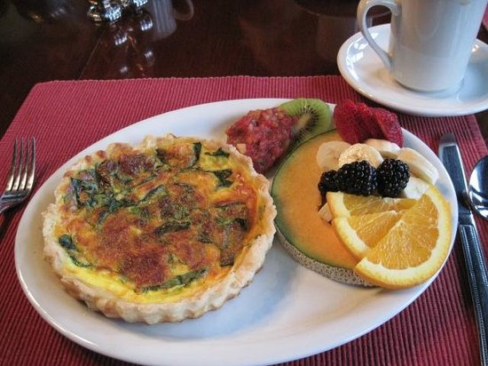Brown Street Inn: Saturday breakfast to start off a day of sight-seeing.