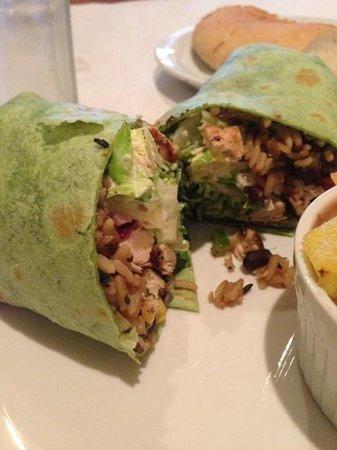 Cafe 225: Santa Fe chicken wrap