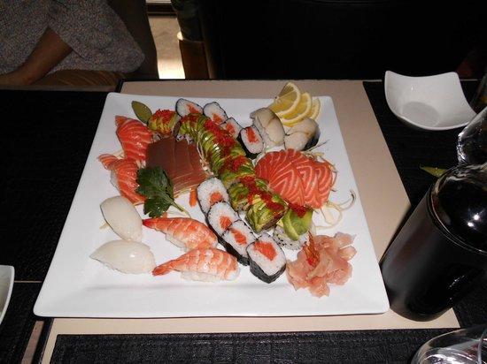 La Villa Sushi : Exemple : Assortiment Villa pour 2 personnes