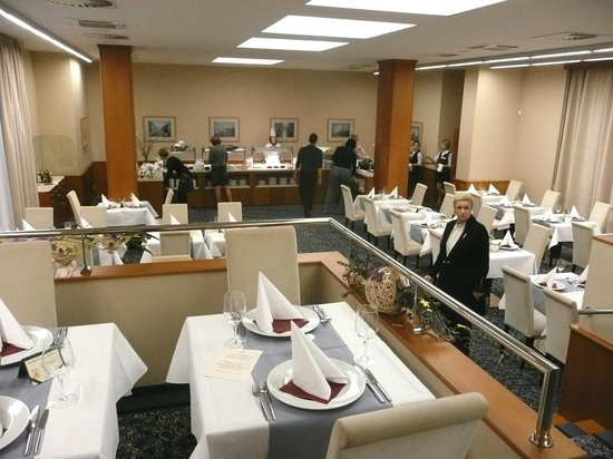 Hotel Alexandria: Dining room
