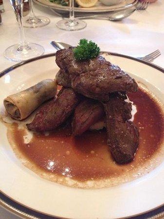 Garvock House Hotel: great food