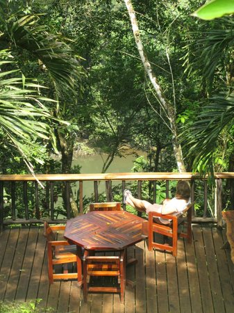 Table Rock Jungle Lodge: Best place to listen to the jungle