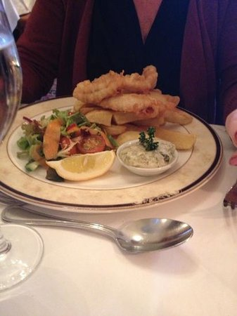 Garvock House Hotel: great food