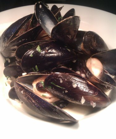 Purslane: Mussels from the light meals menu £5