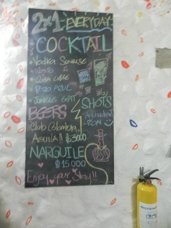 El Hostal de Jackie: El bar
