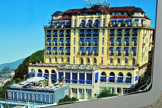 Art Deco Hotel Montana Luzern: aussenansicht des hotels montana