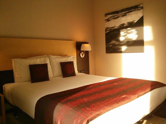 โรงแรมเบสท์เวสเทิร์นพรีเมียร์ปาลาเมนท์: Chambre vue 1