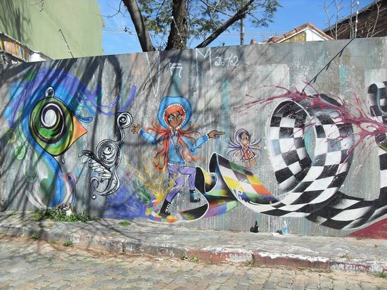 Batman Alley: Grafitti en Vila Madalena