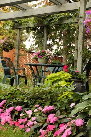 Evergreen Gate Bed and Breakfast : Park yourself in our park