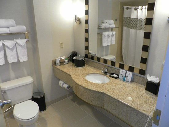 Hampton Inn Washington, DC - Convention Center : salle de bains