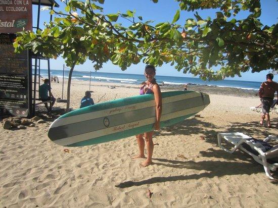 Landay Hostel: the beach