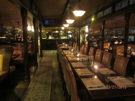 Botel Matylda: Matylda Restaurant